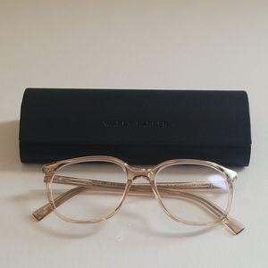 Warby Parker Laurel Glasses Elderflower Crystal